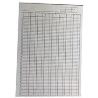 Basics A4 Analysis Pad 8 Column - KF01082