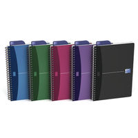 Oxford Office A5 Wirebound Notebook - Pack of 5 - 100101300