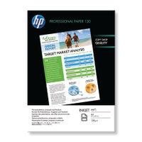 HP Professional White A4 Matt Paper, 120gsm, 200 Sheets - Q6593A