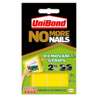 UniBond Yellow Removable No More Nails Adhesive Strips– HK05134