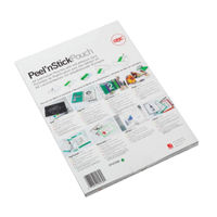 View more details about GBC Peel 'n Stick Laminating Pouches, Pack of 100 - GB22002