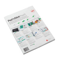 View more details about GBC Peel 'N' Stick A3 Gloss Laminating Pouches, Pack of 100 - 3747236