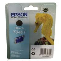 Epson T0481 Black Ink Cartridge - C13T048140