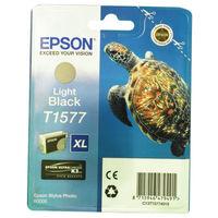 Epson T1577 Light Black Ink Cartridge - High Capacity C13T15774010
