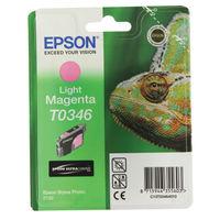 Epson T0346 Light Magenta Ink Cartridge - C13T03464010