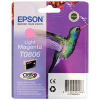 Epson T0806 Light Magenta Ink Cartridge - C13T08064011