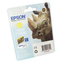View more details about Epson T1004 Yellow Ink Cartridge C13T10044010 / T1004