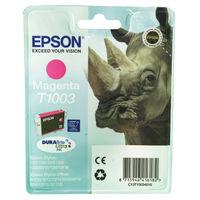 Epson T1003 Durabrite Ultra Magenta Ink Cartridge - C13T10034010