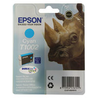 View more details about Epson T1002 Cyan Ink Cartridge C13T10024010