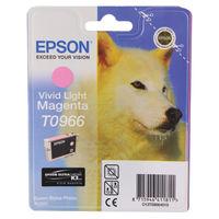 Epson T0966 Light Magenta Ink Cartridge - C13T09664010