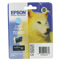 Epson T0965 Light Cyan Ink Cartridge - C13T09654010