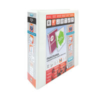View more details about Elba White A4 Panorama Presentation Lever Arch Files 70mm (Pack of 5) -400008436
