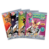 View more details about Pukka Fun Assorted Interactive Colour Books (Pack of 4) 8608-FUN