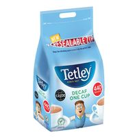 Tetley One Cup Decaffeinated Tea Bags - Pack of 440 - NWTTBC