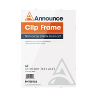 View more details about Announce A2 Clip Frame - CF4259NG