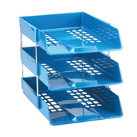 View more details about Avery Blue Basic A4/Foolscap Letter Tray - 1132BLUE