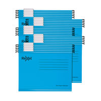 View more details about Rexel Blue A4 Classic Suspension Files, Pack of 25 - 2115587