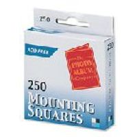 Photo Album Company Mounting Squares, Pack of 250 - MS250