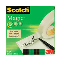 View more details about Scotch 810 25mm x 88m Magic Tape | 8102566
