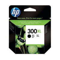 HP 300 XL Black Ink Cartridge - High Capacity CC641EE
