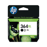 HP 364 XL Black Ink Cartridge - High Capacity CN684EE