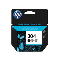 HP 304 Black Ink Cartridge - N9K06AEBGX
