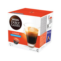 View more details about Nescafe Dolce Gusto Lungo Decaffeinated Capsules, Pack of 48 - 12219256