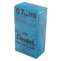 Pentel Mechanical HB 0.7mm Pencil Refill Leads, Pack of 144 - 50-HB