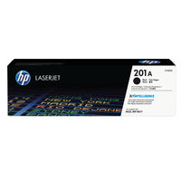 View more details about HP 201A Black Toner Cartridge - CF400A