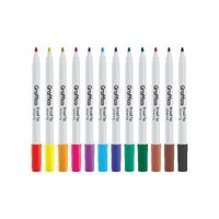 Graffico Assorted Funliner Colouring Pens, Pack of 12 - LL04952