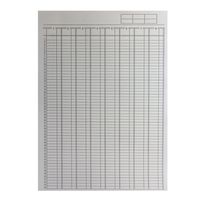 Basics A4 Analysis Pad 8 Column - KF01082