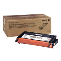 View more details about Xerox Phaser 6280 Black Toner Cartridge 106R01395