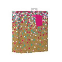 Giftmaker Confetti Medium Gift Bags, Pack of 6 - FCOM