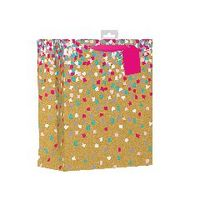 Giftmaker Confetti Large Gift Bags, Pack of 6 - FCOL