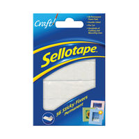 View more details about Sellotape Permanent Sticky Fixers, Pack of 56 | 1445423