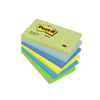 View more details about Post-it 76 x 127mm Dream Colours Notes, Pack of 6 | 655MT