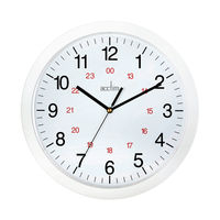 View more details about Acctim Metro 24 Hour White 12 Inch Wall Clock - 21162