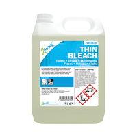 View more details about 2Work Thin Bleach 5 Litre 2W03978