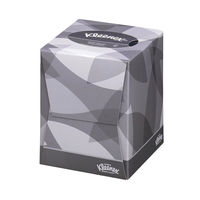 View more details about Kleenex Facial Tissue Cube, 90 Sheets, Pack of 12 - 8834