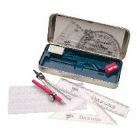Helix Oxford Maths Set Tins, Pack of 5 - B43000