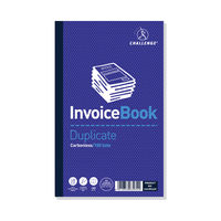 View more details about Challenge Carbonless Taped Duplicate Invoice Book - Pack of 5 - L63034