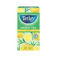 Tetley Green Tea With Lemon Tea Bags, Pack of 25 - NWT204