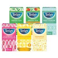 Tetley Fruit and Herbal Tea Starter Pack, Pack of 150 - NWT792