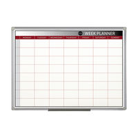 View more details about Bi-Office Magnetic Week Planner 900 x 600mm GA0333170