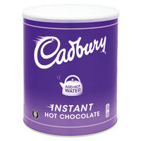 View more details about Cadbury Chocolate Break Fairtrade Instant Hot Chocolate, 2kg Tin - A00669