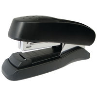 View more details about Rapesco Flat Clinch Black Half Strip Stapler - 1064