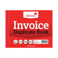View more details about Silvine Carbon Invoice Duplicate Book, 100 Pages (Pack of 12) - 616