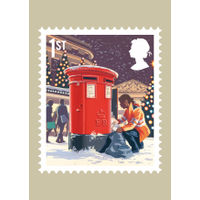 The Christmas 2018 Stamp Card Pack - AQ270