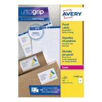 Avery BlockOut Laser Address Labels 199.6 x 143.5mm, Pack of 200 - L7168-100