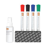 View more details about Nobo Dry Erase Whiteboard Accessory Starter Kit 1903798